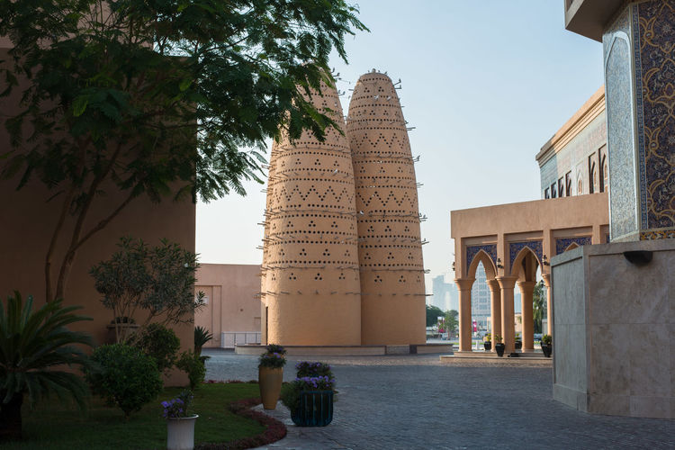 katara cultural village, doha,qatar Katara Cultural Village Qatar Doha,Qatar Cultures Culture Hertitage Travel Tourism Arab Gulf Building Exterior Architecture Building Outdoors Built Structure Plant Nature Travel Destinations City Architectural Column History