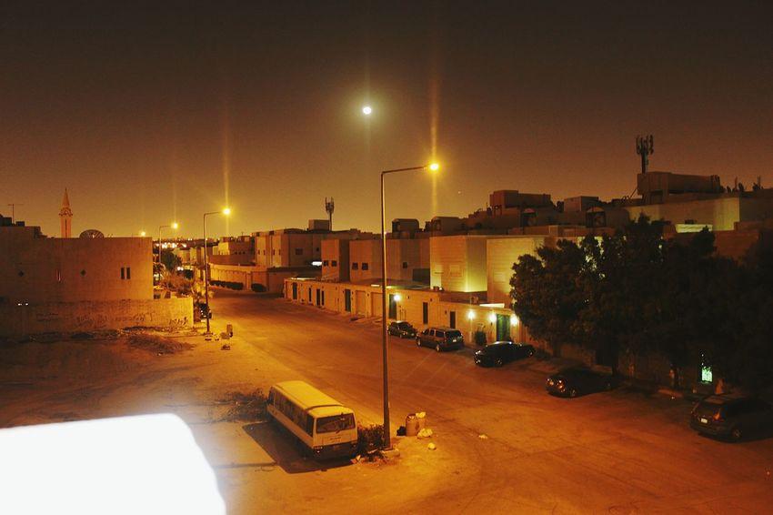 Night Illuminated Car City Winter No People Outdoors Sky Angelphotography Saudi Arabia Photography