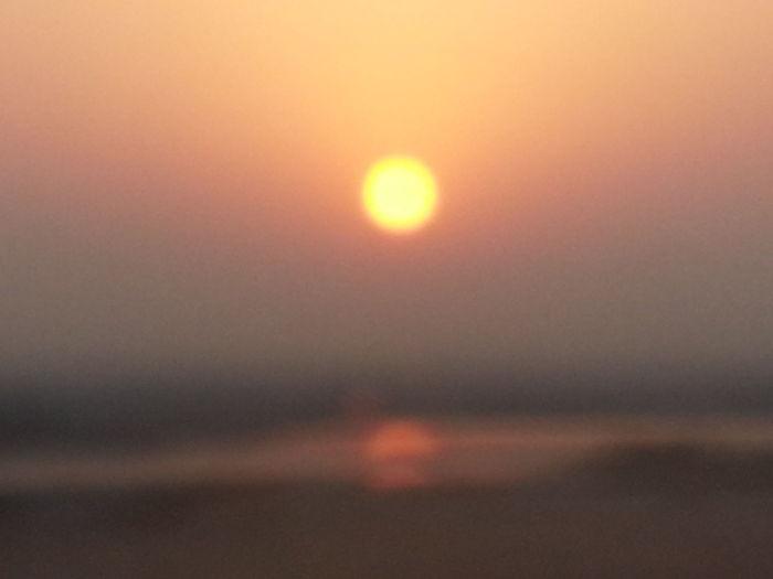Blurry Shot Sunrise