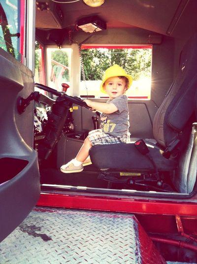 Touch-A-Truck...mixer!