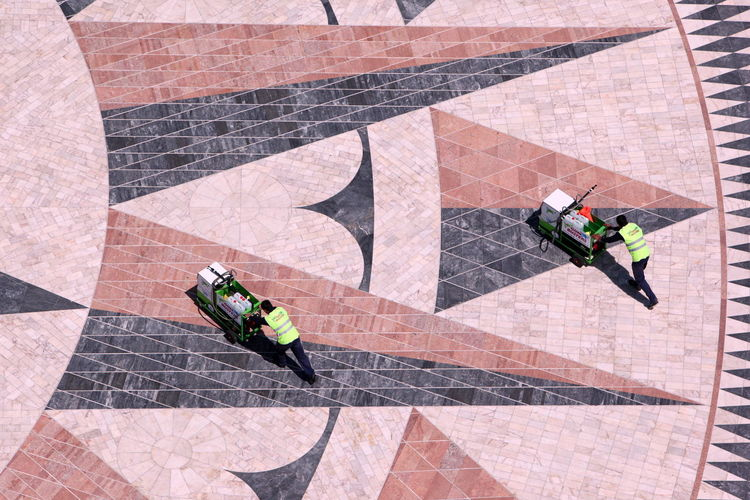 Day Elevated View Flooring Green Color Lifestyles Still Life Tilt