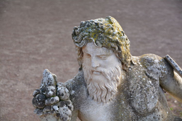 Close-Up Of Statue Outdoors