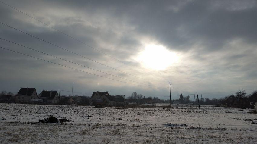 Winter Ukraine, My Ukraine! Ukraine Beauty In Nature Cold Temperature Nature Sky Andrushivka Zhytomyr