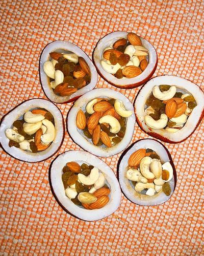 Festive Season Holi Season Of Colours Coconut Dry Fruits Yumm Fun Here Belongs To Me 📍