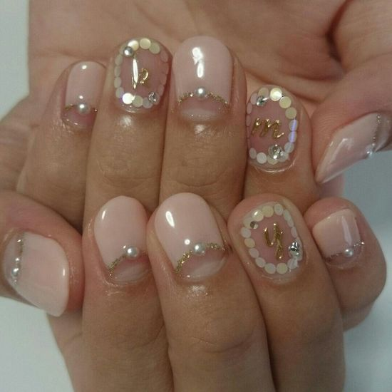 Nail Initial French Nails Koinonia