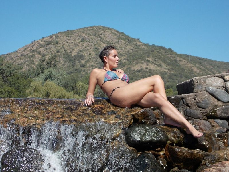 Relax Cerro Rio Bikinimodel One Woman Only Outdoors Vacations Girl In MYSELFIE Buenavida Viajera