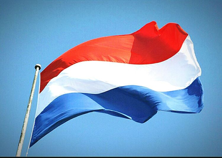 Ik hou van jou😇(Dutch) ~ Nederland Flag Sky Flag Motion Nederland🇳🇱💕 First Eyeem Photo