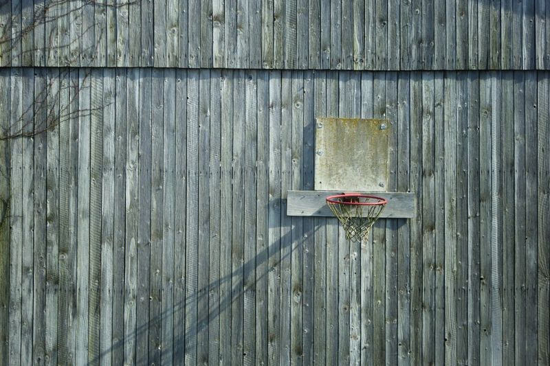 Basketball Game Wood - Material Full Frame Outdoors Textured  Built Structure Moments Taking Photos From My Point Of View Gray Gray Color Game Sports Leisure Activity Fun