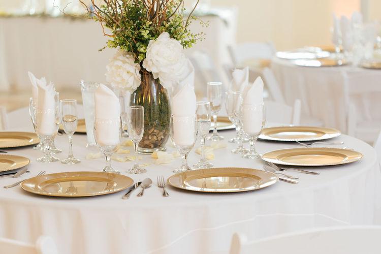 Table in restaurant