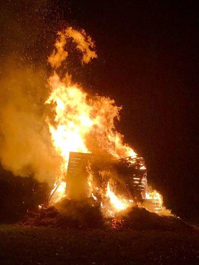 Burning Fire Flame Heat - Temperature Night