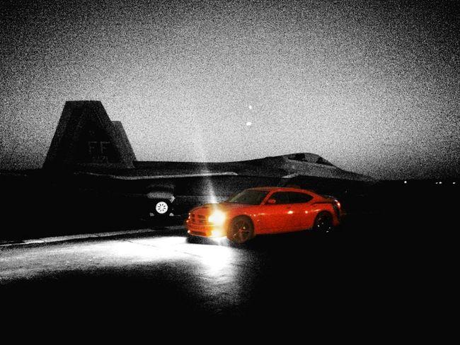 F22 Blackandwhite Jet