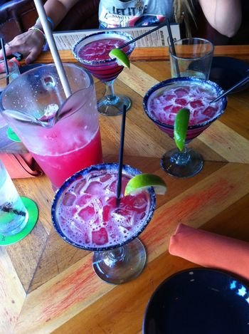 Drinking Straw Drink Drinking Glass Food And Drink Table One Person Human Hand Cocktail Close-up Refreshment Martini Glass People Alcohol Indoors  Freshness Day Margaritas Strawberry Margarita Tekila Pink Drink Drinks
