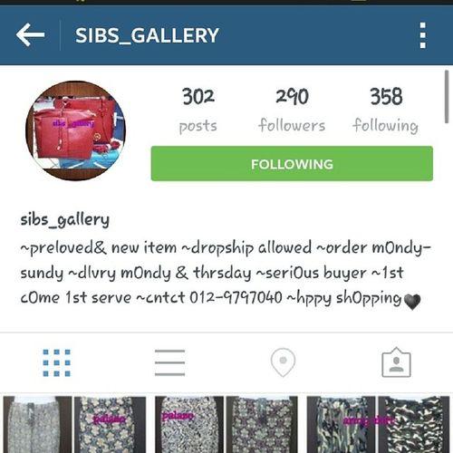 bru hbis shoping kat page @sibs_gallery... brg2 Best  n Murah heheh jom kwn2 shoping kt sini gak...;)