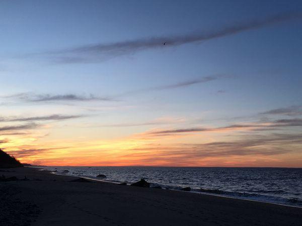Cotton Candy Skyes Sky And Clouds Sunset Cottoncandyclouds LongIslandNY Longislandsound NY Soundbeach