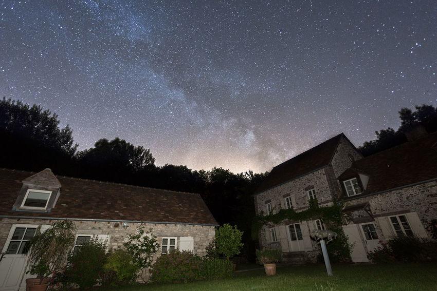 Nature On Your Doorstep Milkyway Night City Milky way view from my garden...