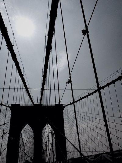 Brooklyn Bridge, NYC Taking Photos Enjoying Life IPhoneography Streetart
