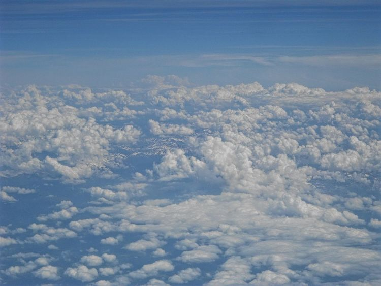 Cloud Clouds And Sky Cloudscapes Blue Sky Blue Nature Aerial View Outdoors Beautifulnaturephotography Landscape_captures Landscape_photography Beautiful Nature Beautifulnature Color Travel NikonD3100 Nikonphotography Sky Planeview Plane Memories