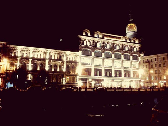 мой Санкт-Петербург Питер Ночь вечер сказка волшебно