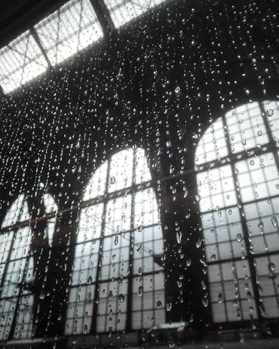 Centraal Station Antwerpen Centraal Antwerpen Belgium Rain On The Window No Effects