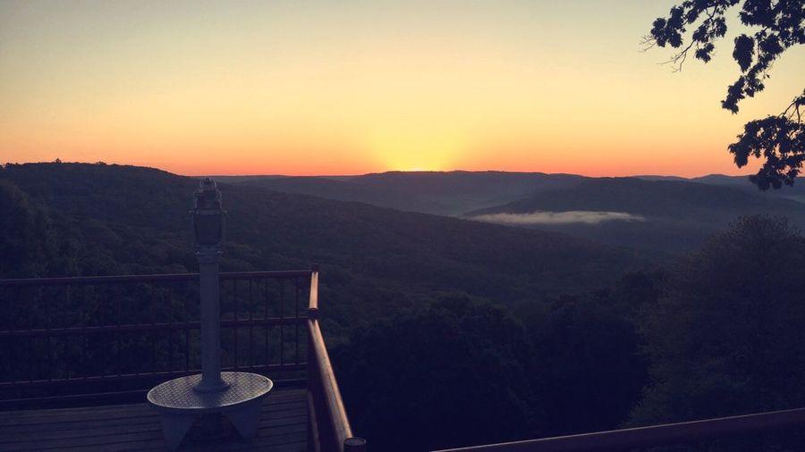 Mountains Fayetteville Artistpoint Sunrise