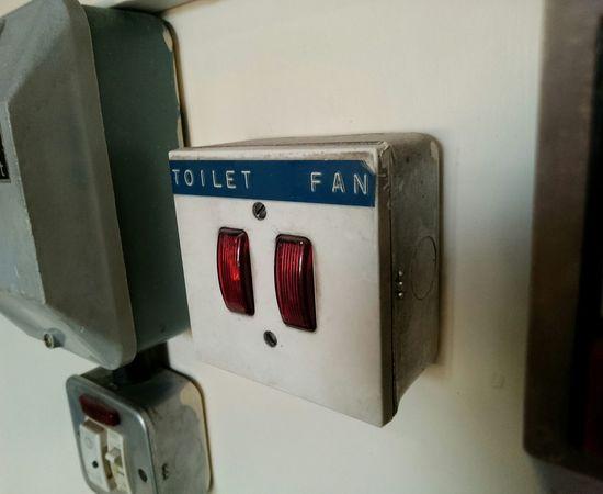 Toilet Fan Button// Toilet Toilets Buttons Button Press EyeEm Gallery EyeEmBestPics Red EyeEm Best Shots Eye4photography  Signs Picoftheday