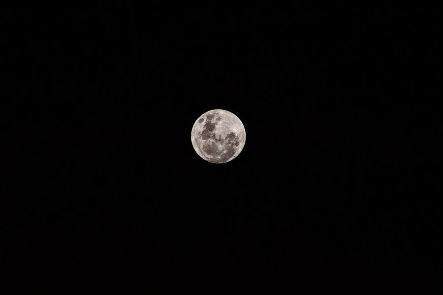 Super Moon (zoom to see) EyeEmNewHere EyeEm Best Shots EyeEm Moon Astronomy Night Full Moon Moon Surface Planetary Moon Nature Scenics Beauty In Nature Tranquility Low Angle View Tranquil Scene No People Discovery Space Exploration Outdoors Sky Space Clear Sky