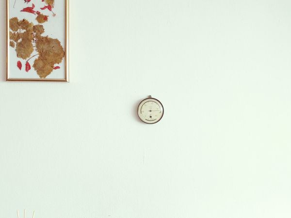 Barometer Onthewall White WheatherForcast