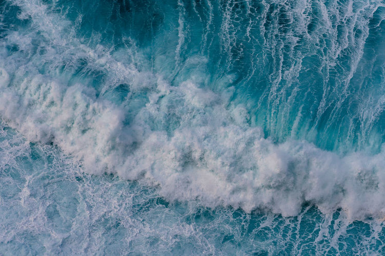 Big waves rolling in, Portugal Sea Motion Wave Aquatic Sport Power Power In Nature Water Splashing Beauty In Nature High Angle View Outdoors Full Frame Breaking Flowing Water Ocean Sea Scape Aerial View Turquoise Colored Turquoise Water