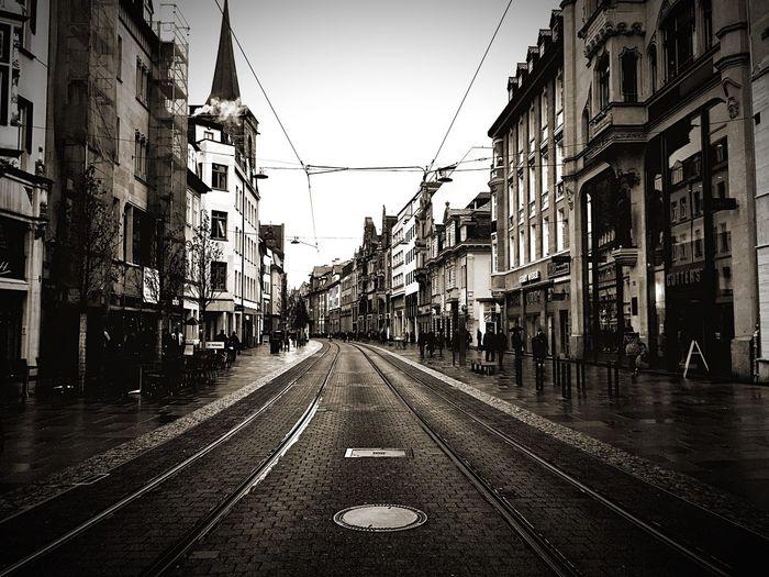 Erfurt Blackandwhite Streetphotography
