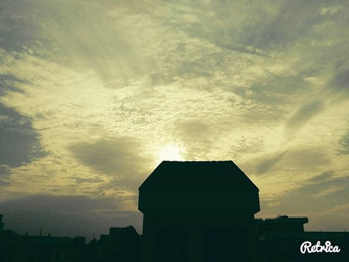 """Igaddict Sun Sunset Pretty Clouds Photograph Honor 5x Likeforlike Awesome Beginning Beautiful """"There are No Rules for Good Photographs, There are Only Good Photographs"""""""
