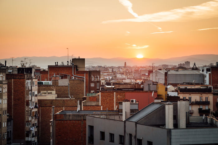 Architecture Barcelona Barcelona, Spain Building Exterior Built Structure City City City Life Cityscape Crowded Day Exploreeastjava Exploretocreate Nature Outdoors Residential  Residential Building Roof Sky Sunset Town