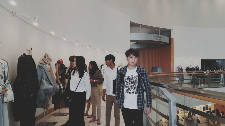 People standing at store