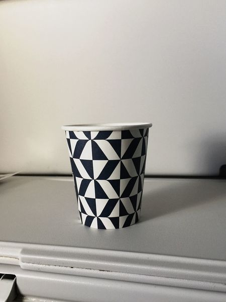 No People Indoors  White Color Table Close-up Day Patterns Minimalism Cup Continuous Black And White Patterns EloEmenike