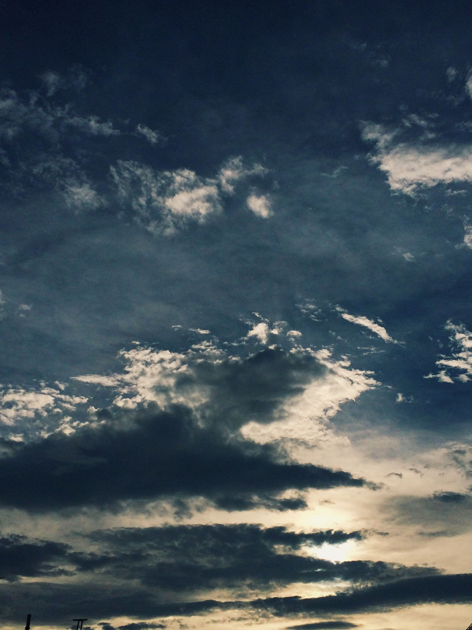 sky, scenics, beauty in nature, tranquility, tranquil scene, cloud - sky, nature, cloudscape, sky only, cloudy, idyllic, low angle view, blue, cloud, aerial view, backgrounds, weather, majestic, outdoors, no people