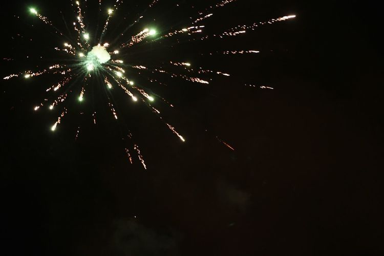More fireworks Through The Dark Lihht In The Distant Darkness And Light Dark Light And Shadow Glowing Lights Fire Sky