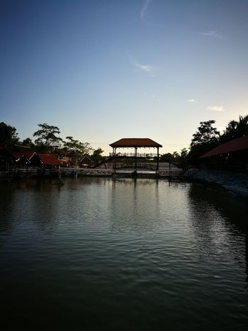 Water Outdoors Sky Stilt House Lake Built Structure Architecture Nature Day No People