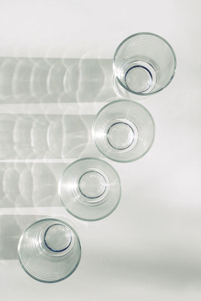 Bottle Close-up Day Drink Drinking Glass Drinking Water Indoors  No People Photooftheday Picoftheday Spiral Still Life Studio Shot The Week On EyeEm Water White Background Minimalist Architecture
