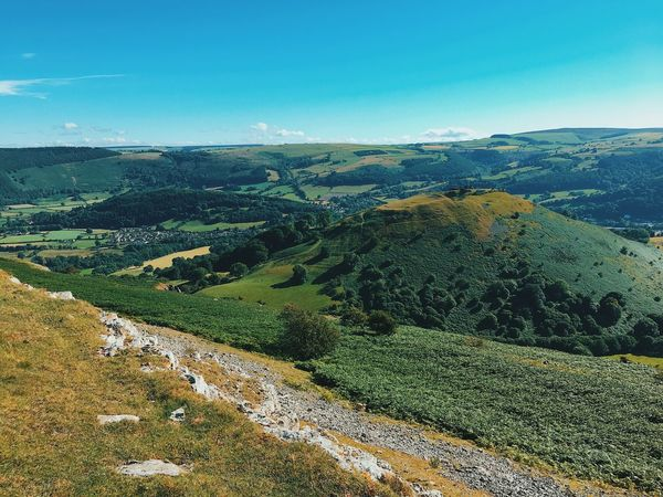 Llangollen Landscape Scenics Nature Beauty In Nature Tranquility Tranquil Scene Sky Mountain Day No People Green Color Outdoors First Eyeem Photo VSCO Vscocam Flying High