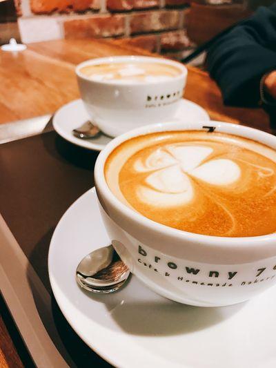 커피한잔 커피 라떼 광교