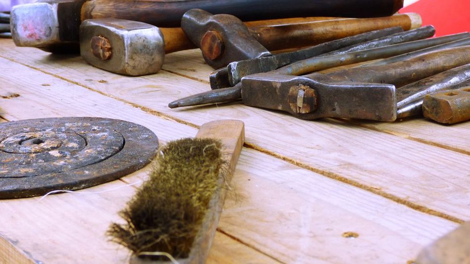 The Tools of a craftman Check This Out Close-up Craftman Tools Deterioration Iron Nail Old Still Life Tools Wood Wood - Material Wooden Work Tool