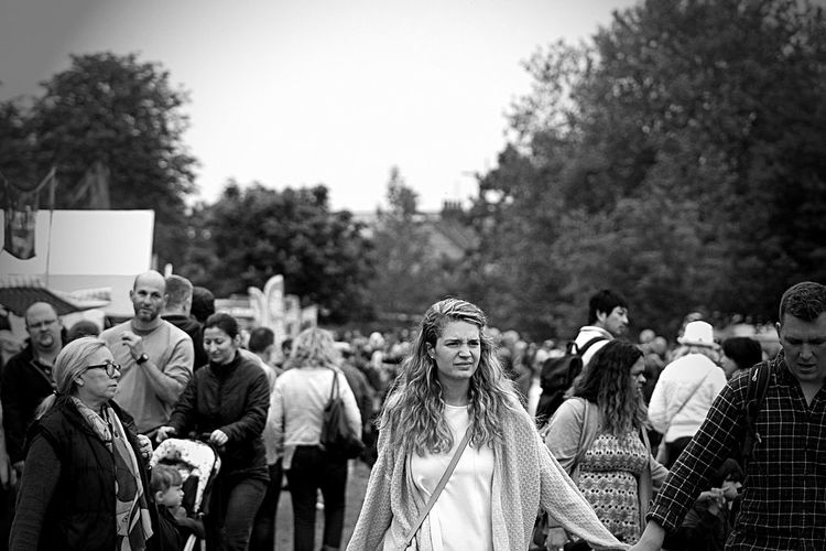Blackandwhite Blackandwhitephotography Cambridge Cambridgeshire Casual Clothing Crowd Day Festival Focus On Foreground Landscape Large Group Of People Leisure Activity Mixed Age Range Monochrome MonochromePhotography Nature Outdoor Photography Outdoors Strawberry Fair 2016