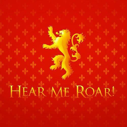 Hear me Roar! Lannister Tyrionlannister Tywinlannister Jaimelannister CerseiLannister Hearmeroar Westeros  Greathouse Agameofthrones Got Gameofthrones Asongoficeandfire AsCrônicasDeGeloEFogo Instafollow Instafollowback Instagood Iphonesia Followme Followback Follow4follow Instadaily Therainsofcastamere