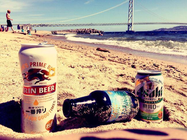 Seaside Bridge Ocean Beer Beach Beach Photography