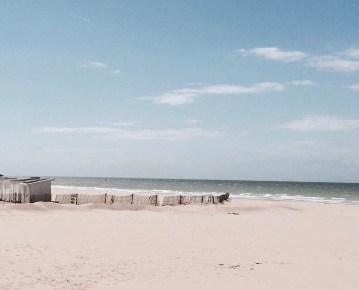 Calais Beach France Beach Sand
