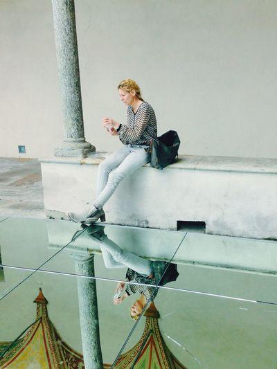 Danish Designer  for Mindcraft Salonedelmobile2015 Reflextion Mirror