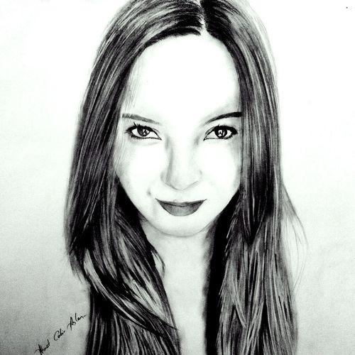 Hello World Karakalem Portrait Drawing Beü Kku Zonguldak