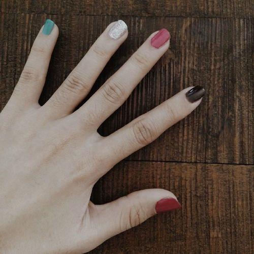Năm ngón tay ngoan ? Hand Nailpolish Nailart  Mynailstoday