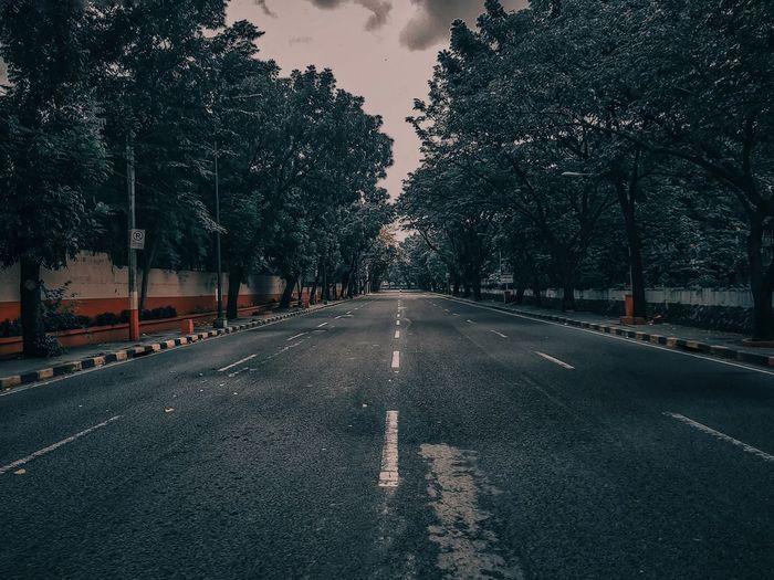 Empty road