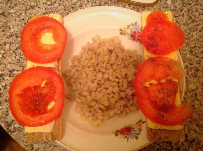 Завтрак худею худеемвместе вкусно полезно