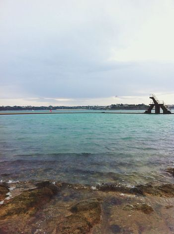 St Malo 👌🏻 First Eyeem Photo Sea And Sky Swimming Pool
